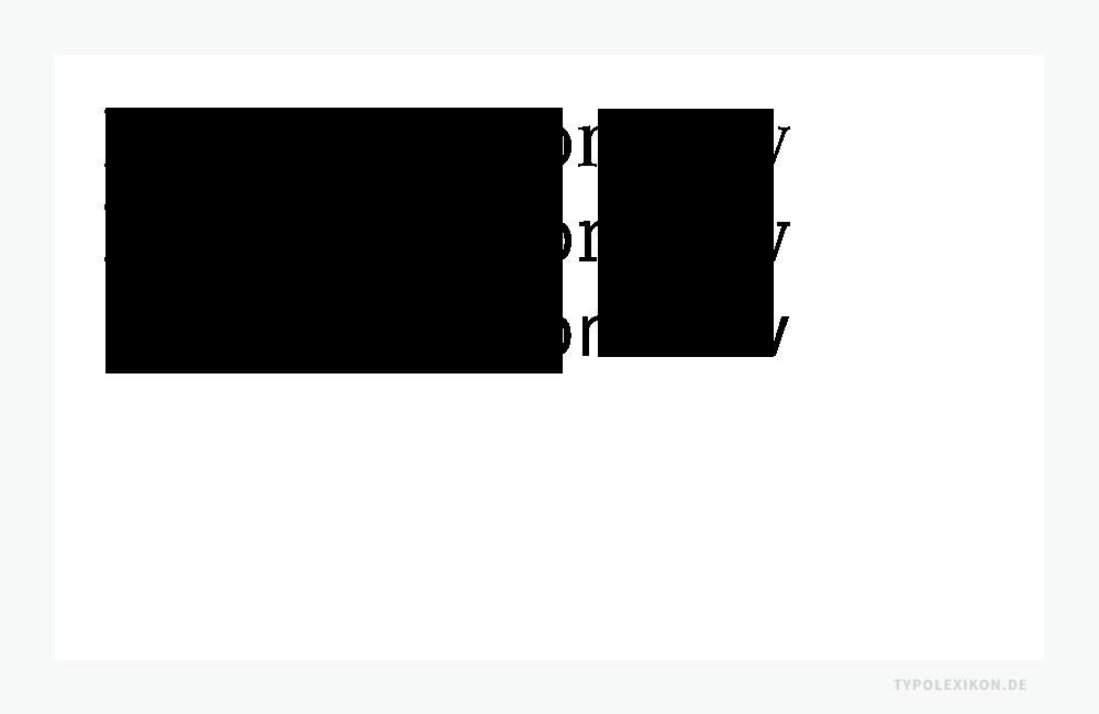 Die Schriftgattung »Antiqua« unterteilt sich in die Hauptschriftgruppen Antiqua (Antiqua mit Serifen, Serif), Egyptienne (Antiqua mit betonten Serifen, Slab Serif) und Grotesk (Antiqua ohne Serifen, Sans Serif). Beispiel gesetzt in der Compatil™ Text, Letter und Fakt von Linotype®.
