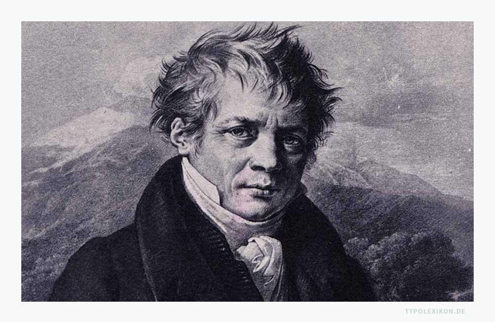 Der französische Typograf Firmin Ambroise Didot (1764–1836). Abbildung: Kolorierte Heliographie von Dujardin, Paris, 1823. Gedruckt von Ancienne Quantin, Paris.