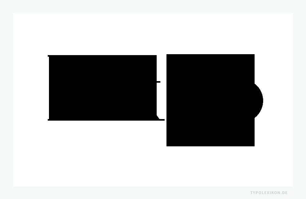 Schriftprobe eines digitalen Remakes einer streng linear aufgebauten Klassizistischen Antiqua von Firmin Ambroise Didot (1764–1836) von Adrian Frutiger für Linotype aus dem Jahre 1991. Infografik: www.typolexikon.de
