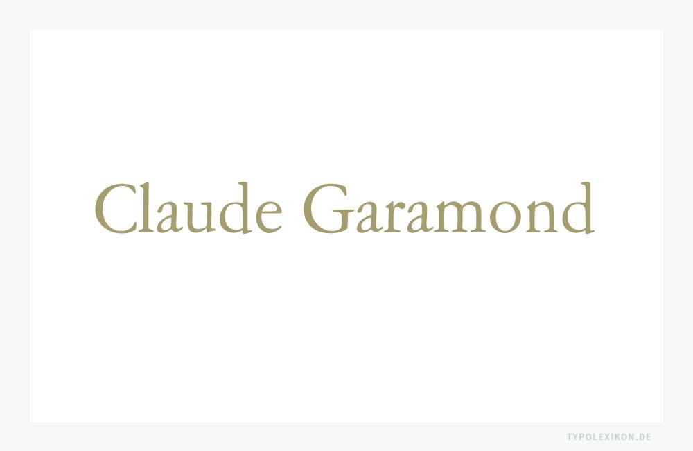 Nachschnitt einer Amsterdamer Garamond im normalen Schriftschnitt von Morris Fuller Benton (1872–1948) für die ATF-Company (USA) aus dem Jahre 1917. Infografik: www.typolexikon.de