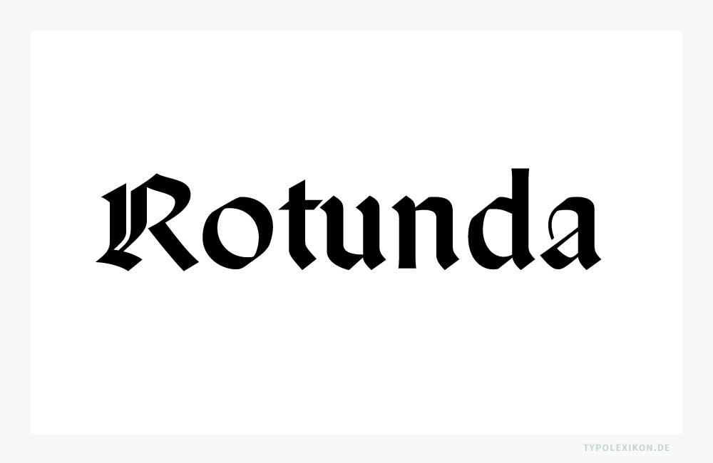 Der Font »San Marco« des Kalligraphen und Schriftgestalters Karlgeorg Hoefer (1914–2000), der 1991 auf Initiative von Adrian Frutiger (1928–2015) im Rahmen des Projekts »Type before Gutenberg« bei Linotype® entstand, referenziert eine italienische Rotunda aus dem 14. Jahrhundert.