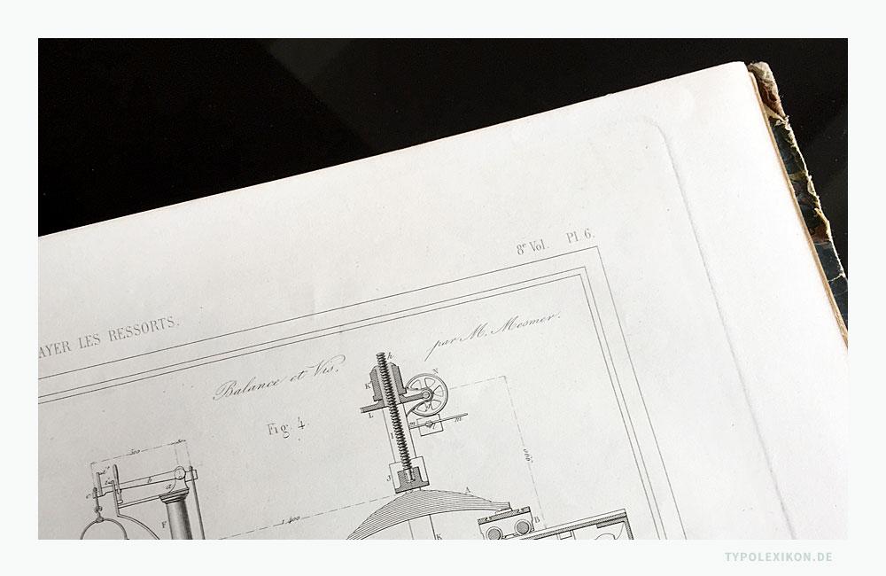 Beispiel einer gedruckten »Schönschreibschrift« aus dem Jahre 1853. Quelle: Publication Industrielle des Machines, Outils et Appareils, Chez M. Carilian-Goeury et Victor Dalmont, Libraires pour L´Industrie, les Arts et Les Scirnces, Paris.