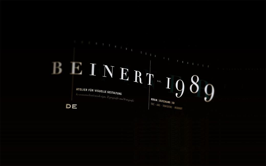 Wolfgang Beinert | Atelier für visuelle Gestaltung